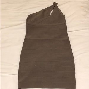Guess one shoulder bodycon dress